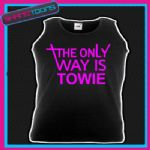 HOLIDAY HEN PARTY TOWIE ESSEX UNISEX VEST TOP